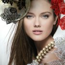 $0.7pc DIY  fancy items  Sweet Princess dress flower Hairpiece scarf  wedding 4designcraft