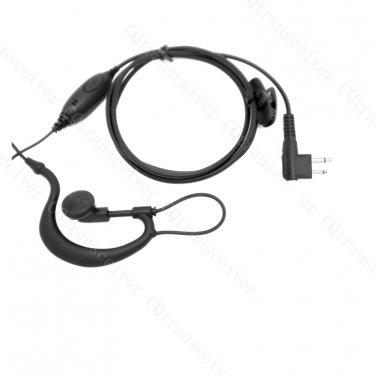 G Shape Ear Hang Earpiece for Motorola CLS1110 CLS1410 VL50 DTR410 DTR550 P040 P080 P110 P1225