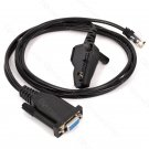 KPG36/KPG46 2 in 1 programming cable for Kenwood Handheld 2 pin radios and Mobile 8 pin jack radios
