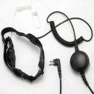 Noise Cancelling Throat Mic Headset for Motorola Portable Radio DTR410 DTR550 DTR610 DTR650