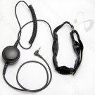 Rugged Throat Mic Headset with covert earpiece for Yaesu Vertex radio VX160 VX180 VX210 VX300 VX400