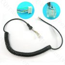 Replacement MH-48A6J Microphone Cable for Yaesu