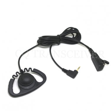 Zigzag D Shape Earhook Headset for Motorola T6400 T6500 T6510 T6550 T7100 T7150 T7200 T7400 T7450