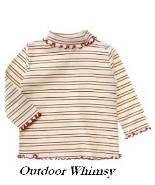 Gymboree OUTDOOR WHIMSY Lettuce edged turtleneck NWT 6-12 months