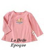 Gymboree LA BELLE EPOQUE rocking horse A-line top