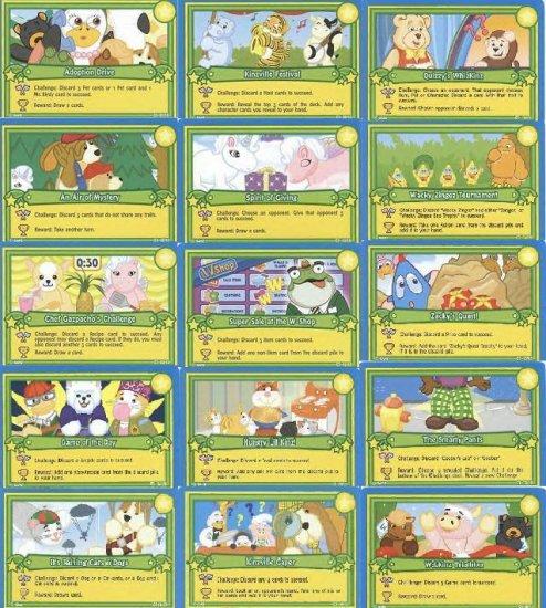 Webkinz CHALLENGE CARD SET #1-15 RARE HARD TO FIND!!