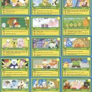 Webkinz CHALLENGE CARD SET #1-15 RARE HARD TO FIND!!