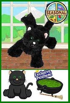 Webkinz LIMITED EDITION Black cat w/green eyes Seasonal HALLOWEEN Release IN HAND!! SHIPS FREE!!