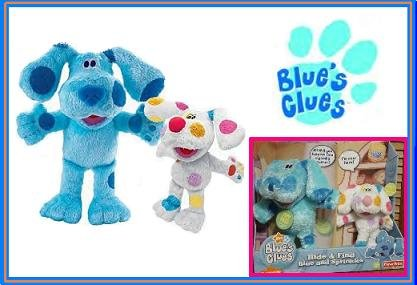 Blue's Clues HIDE AND FIND w/ baby brother Sprinkles BLUES Nick Jr NEW!! VHTF!!