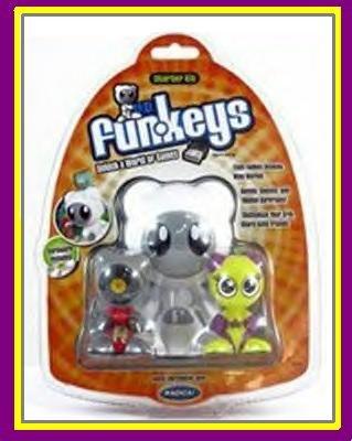 Mattel UB FUNKEYS Radica U.B. FUNKEY kit w/ TWINX & SCRATCH NEW!! RARE!!