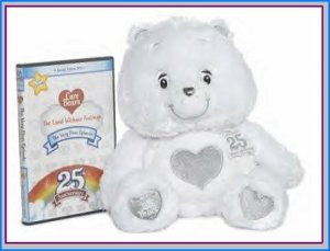 Care Bears 25th Silver Anniversary Special Edition TENDERHEART w/never released DVD NEW! SHIPS NOW!
