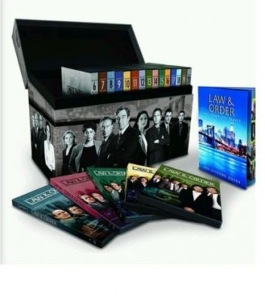 TV Law & Order Complete Series Seasons 1 - 20 Box Set DVD