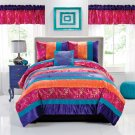 Wild Crush Full / Queen Comforter With 2 Shams