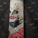 MARILYN MONROE SUGAR SKULL - PEYOTE beading pattern for cuff bracelet SALE