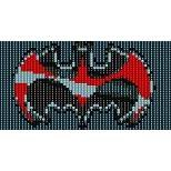 SUPERHERO BATMAN  - LOOM beading pattern for cuff bracelet SALE