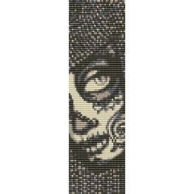 SUGAR SKULL TIMORA - beading cuff bracelet SALE HALF PRICE OFF  pattern for loom