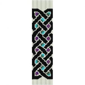 Celtic Border 1 Perler Bead Pattern | Bead Sprites | Simple Fuse