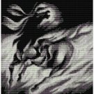 BLACK BEAUTY STALLION SPIRIT  - beading PANEL pattern for loom
