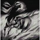 BLACK BEAUTY STALLION SPIRIT  - beading PANEL pattern for PEYOTE SALE