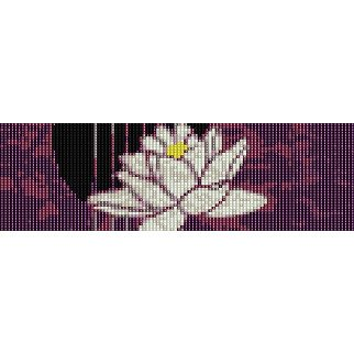 LOTUS FLOWER  - LOOM beading pattern for cuff bracelet SALE HALF PRICE OFF