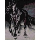 BLACK BEAUTY STALLION - beading PANEL pattern for PEYOTE SALE