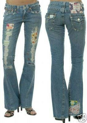 TRUE RELIGION WOODSTOCK JEANS