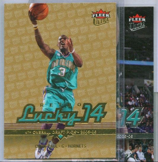 06-07 Ultra Chris Paul Lucky 14 Lot