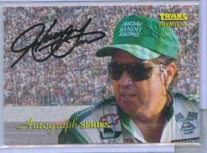 1993 Traks Harry Gant Autograph