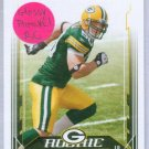 06 Score AJ Hawk Glossy Parallel Rookie card