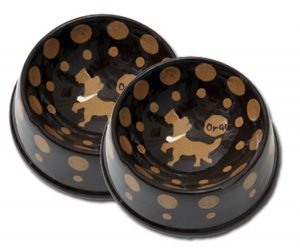 Crunchtime Large Handpainted Persoanalized Dog Bowl