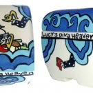 Pet - Dog - Urn - Diva Heaven Dog Urn - Personalized - Handpainted