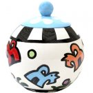 Bonznmice - Dog Treat Jar - 7 Inch - Handpainted - Personalized