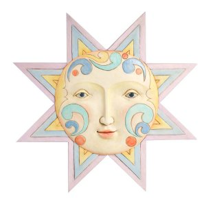 Jim Shore Sun Face Wall Decor