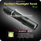 KLARUS XT2C Flashlight CREE XML T6 LED Flashlight 1*18650 Aircraft grade aluminum IPX-8 Standard
