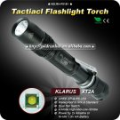 KLARUS XT2A Tactical Flashlight CREE XPG-R5 LED Aircraft grade aluminum IPX-8 Standard Torch
