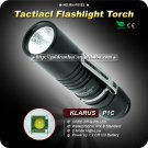 KLARUS P1C  Flashlight CREE XP-G R5 2 Mode Aircraft Grade Aluminum Military Grade Type III