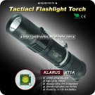 Klarus XT1A Military Flashlight Cree XP-G R5 1xAA Hiking Torch
