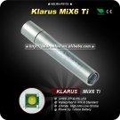 KLARUS MiX6 Ti Stainless Steel Mini Flashlight Key Chain Mini Brightest Torch
