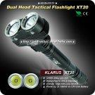 KLARUS XT20 Tactical Flashlight Dual Head Powerful Cree XML U2 LED