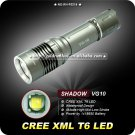 SHADOW VG10 Flashlight 1000 Lumens 18650 Battery Aluminum III IPX-8 Waterproof Hiking Camping Torch