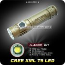 Flashlight CREE XM-L T6 LED 1000 Lumens IPX-8 18650 Battery 4 Mode High Power Camping Torch