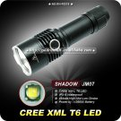 Flashlight 4 Mode LED 1000 Lumens 26650 Battery Aluminum III IPX-8 Waterproof Hiking Camping Torch