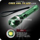 T6 LED 1000Lm Flashlight Torch Rechargeable Zoomable LED Flashlight