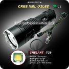 Flashlight Cree XML U2 LED 3 Mode 18650 Long Distance Throw High Power Hiking Explore Torch