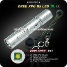 R5 LED 5 Mode LED Flashlight AA Waterproof Aluminum Full Stainelss Steel Mini Flashlight