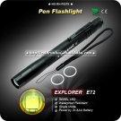 PEN Flashlight EXPLORER E72 REBEL LED Single Mode LED Flashlight - Black (AAA)