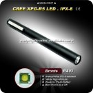 LED Compact Flashlight - Bronte RA03 120Lumens 3 Modes 2 x AAA Battery Outdoors Gear and Flashlights