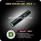 Bronte RA01 Cree XP-G R5 80LM 3-Mode LED White Light Flashlight (1 x AAA) Mini Camping Hiking Torch