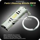 Fenix NW20 Lifesaving Emergency Survival SOS Stainless Steel Whistle 120db