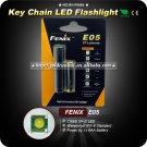 Fenix E05 Cree XP-E LED 27LM AAA Waterproof Black Aluminum MIN Portable Keychain Flashlight